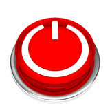 Isolated power button 02 Stock Photo