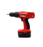 Isolated power tool in red. On the white background royalty free stock photography