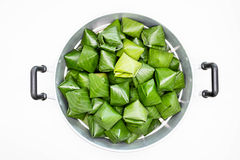 Isolated precook chinese desserts Stock Images