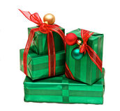 Isolated presents Stock Images