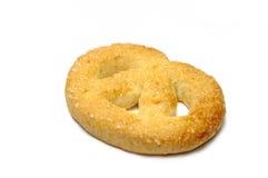 Isolated pretzel Royalty Free Stock Photos