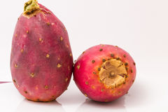 Isolated Prickly Pears On Plate Stock Images