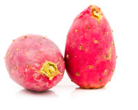 Isolated Prickly Pears On Plate Royalty Free Stock Photo