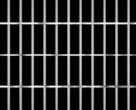 Isolated prison bars isolated bracing Stock Photography