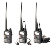 Isolated pro walkie-talkie Stock Photos