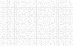 Puzzle. Isolated puzzle pattern with 1000 pieces Royalty Free Stock Image