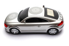 Radio coupe car. An isolated radio white coupe car Royalty Free Stock Photos