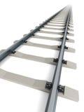 Isolated railway Royalty Free Stock Image