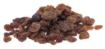 Isolated Raisins royalty free stock photos