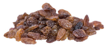 Isolated Raisins Stock Image