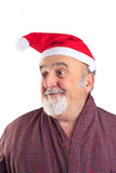 Isolated real Santa Stock Image