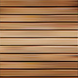 Isolated realistic seamless wooden texture vector illustration, horizontal boards background. Stock Photos
