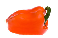 Isolated Red Bell Pepper Royalty Free Stock Photos