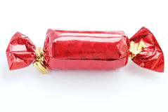 Isolated red candy Stock Photos