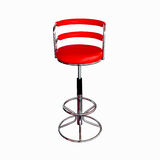 Isolated Red Stylish Chair Royalty Free Stock Photos