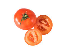 isolated red tomato Royalty Free Stock Image