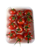 isolated red tomato Royalty Free Stock Photography