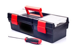 Free Isolated Red Toolbox Close-up Royalty Free Stock Photo - 26292515
