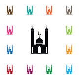 Isolated Religion Icon. Mohammedanism Vector Element Can Be Used For Culture, Mosque, Religion Design Concept. Mohammedanism Vector Element Can Be Used For Royalty Free Stock Image