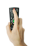 Isolated remote control Stock Images