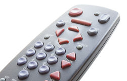 Isolated remote control Royalty Free Stock Photo