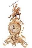 Isolated retro clock Royalty Free Stock Photo