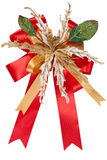 Isolated ribbon for christmas royalty free stock photography