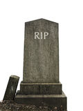 Isolated RIP Grave stock photography