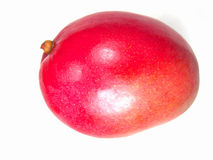 Isolated Ripe Juicy Mango Royalty Free Stock Photos