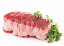 Isolated roast beef Stock Photos