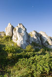 Isolated rock hill Stock Image
