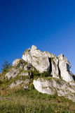 Isolated rock hill Stock Photo