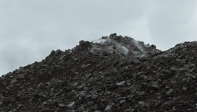 Free Isolated Rocks In The Clouds Black And White Royalty Free Stock Images - 84939809