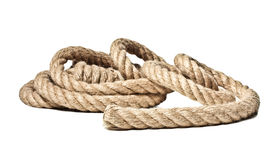 Isolated rope Royalty Free Stock Image