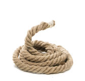 Isolated ropes Royalty Free Stock Photos
