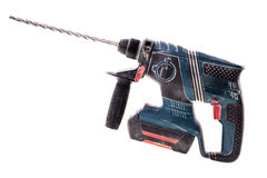 Isolated rotary hammer Stock Photos
