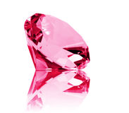 Isolated Ruby Stock Image