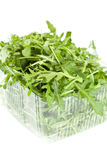 Isolated Rucola Leaves Stock Photo