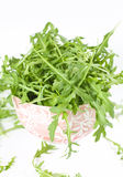Isolated Rucola Leaves Royalty Free Stock Photos