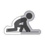 Isolated runner pictogram design Stock Photo