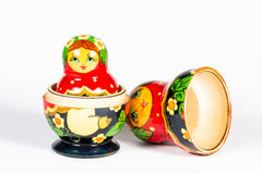 Isolated russian doll, Matryoshka Royalty Free Stock Photo