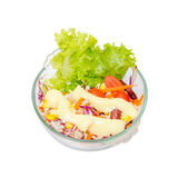 Isolated Salad Stock Photos
