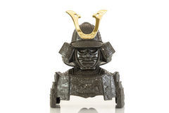 The isolated Samurai armor. Model Royalty Free Stock Image