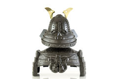 The isolated Samurai armor. Model Royalty Free Stock Photos