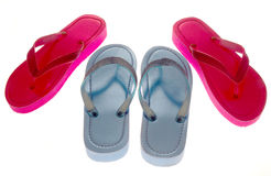 Isolated Sandals Stock Photo