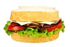Isolated Sandwich Royalty Free Stock Images