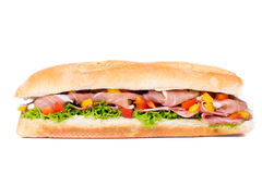 Isolated sandwich Stock Photography