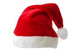 Isolated Santa hat Stock Image