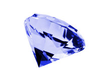 Isolated Sapphire Stock Photo