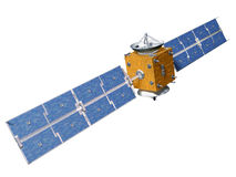 Isolated Satellite Stock Image